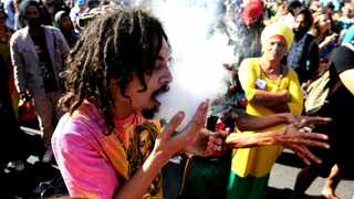 Thousands of people took to the streets of Cape Town earlier this year to demand a relaxation of drugs laws to allow medicinal and recreational use of cannabis. Picture: Ayanda Ndamane/ANA