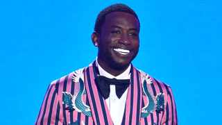 Gucci Mane speaks at the MTV Video Music Awards at Radio City Music Hall on Monday, Aug. 20, 2018, in New York. Picture: Chris Pizzello/Invision/AP