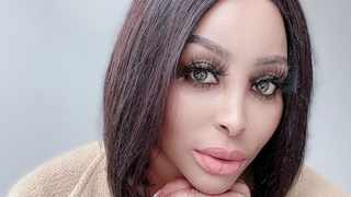 Actress Khanyi Mbau. Picture: Instagram