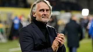 New Cape Town City coach Jan Olde Riekerink is still looking for his first win after they were held to a goalless draw by Highlands Park on Saturday. Photo: Travis Arendse