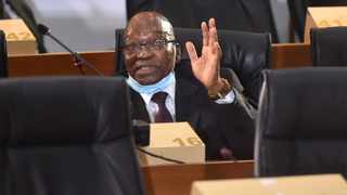 Former President Jacob Zuma's application to have Deputy Chief Justice Raymond Zondo be recused as chairman of the commission into allegations of state capture was dismissed. Picture: Itumeleng English/African News Agency(ANA)