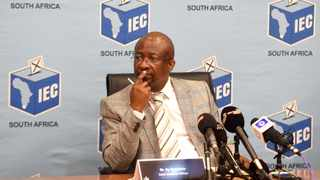Independent Electoral Commission CEO Sy Mamabolo. Picture: Itumeleng English/African News Agency (ANA)