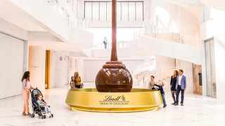 Lindt has created a chocolate museum that boasts the world's largest chocolate fountain. Picture: Lindt Home of Chocolate/Instagram.