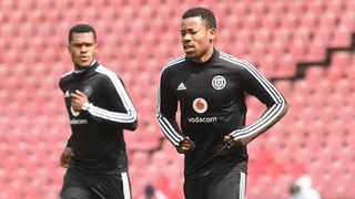 Happy Jele of Orlando Pirates during the Absa Premiership match between Orlando Pirates and Supersport United on the 29 August 2020 at Emirates Airline Park. Photo: Sydney Mahlangu/BackpagePix
