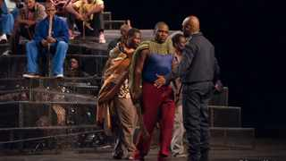 The cast of Marikana the Musical. Picture: Supplied
