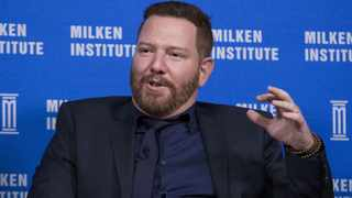 Ryan Kavanaugh, Relativity Media CEO, during the Milken Institute Global Conference in Beverly Hills, California. Picture: Reuters/Mario Anzuoni