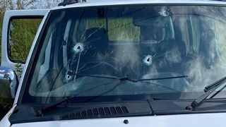A family was attacked by gunmen on Wednesday while driving to Verulam for reasons unknown to them. Picture: RUSA.
