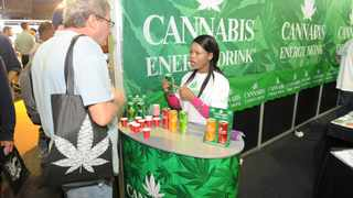 The Cannabis Expo is the largest trade and consumer expo of its kind on the African continent and includes an exhibitor hall. Picture: Henk Kruger/African News Agency(ANA)