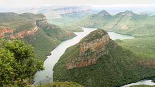 PICTURESQUE: The Blyde River Canyon is one of the biggest tourist attractions in Mpumalanga