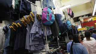 Hard-pressed families could soon be saving on school uniforms following the signing of a memorandum of understanding aimed at stopping schools from forcing parents to buy from exclusive suppliers. Picture: Nhlanhla Phillips/African News Agency/ANA