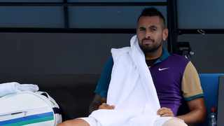 World number one Novak Djokovic said on Sunday he had little respect for Nick Kyrgios' off-court antics after the polarising Australian recently called him 'a tool'. Photo: David Gray/AFP