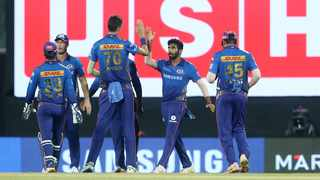 Marco Jansen had Twitter abuzz after a stellar performance for Mumbai Indians against Virat Kohli's Royal Challengers Bangalore in the IPL 2021 opener. Picture: @mipaltan via Twitter