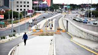 The City of Tshwane is optimistic that final construction being undertaken in the Atterbury Road upgrade will be completed within the next three months. Picture: Thobile Mathonsi African News Agency (ANA)