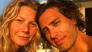 Gwyneth Paltrow and Brad Falchuk. Picture: Instagram