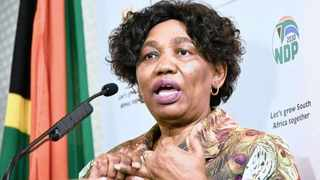Basic Education Minister Angie Motshekga has denied that her family is involved in PPE tenders. Picture: GCIS