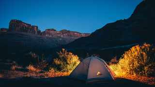 There has been surge of interest in camping and camping destinations locally in recent months. Picture: Pixabay.