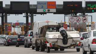 The Carousel Toll Plaza on the N1 freeway north of Pretoria. Picture: Jacques Naude/African News Agency (ANA)