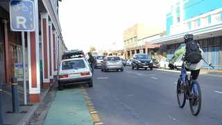PEDALLING: City has already spent R158 million on the construction of cycle lanes and pedestrian walkways.