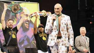 """A fight between British champions Anthony Joshua and Tyson Fury for the undisputed world heavyweight title """"will happen"""" and could be the biggest in the history of the sport, Joshua's promoter Eddie Hearn said on Monday. Photo: Steve Marcus/REUTERS"""