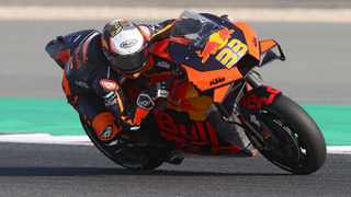 FILE - Red Bull KTM Factory Racing's rider Brad Binde. Photo: KARIM JAAFAR / AFP)