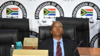 Acting Director General at the State Security Agency (SSA) Loyiso Jafta testified at the Zondo Commission of Inquiry into allegations of state capture in Braamfontein. Picture: Itumeleng English/African News Agency(ANA)