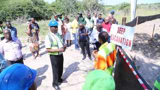 Government is confident that a concrete wall between South Africa and Mozambique will bolster efforts to curb theft of motor vehicles and the movement of illicit goods across the border. Picture: Ministry for Transport,Community Safety & Liaison in KZN