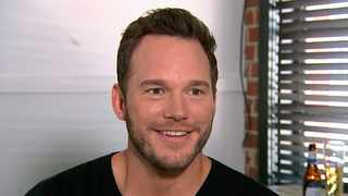 Chris Pratt during an interview at the Fellow Bar in Los Angeles. Picture: AP