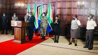 President Cyril Ramaphosa, in his capacity as Commander in Chief, has announced the appointment of Lieutenant-General Rudzani Maphwanya as Chief of the SANDF. Picture: GCIS