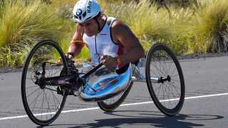 53-year-old Zanardi had both of his legs amputated following a horrific crash during a 2001 CART race in Germany. File picture: AP Photo/Mark J. Terrill.