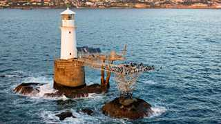 Roman Rock Lighthouse - the fifth-oldest in South Africa, and the only one that has been erected on a rock that is awash almost continuously at high water - was first lit on the night of September 16, 1861.