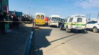 A minibus taxi passenger was shot and killed inside a taxi. Picture: Supplied