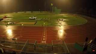 Rain has brought a halt to Tuesday night's athletics meeting in Potch. Photo: screengrab from squardSPORTS via youtube