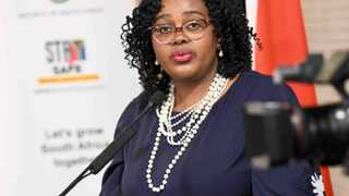 Tourism Minister Mmamoloko Kubayi-Ngubane officially launched the month-long Tourism month celebrations on Monday. Picture: Jairus Mmutle/GCIS