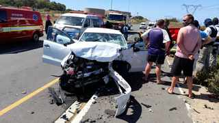 Two people were killed and three injured in a vehicle collision in the Western Cape. Picture: ER24