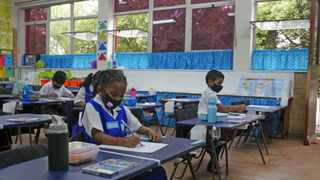 University of Johannesburg research has found that a diagnostic maths test can help Grade 1 teachers find out who is on track with maths and who is lagging. Picture: Ian Landsberg/African News Agency (ANA).