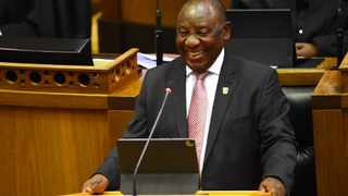 President Cyril Ramaphosa has lauded the matric Class of 2020..Picture: Phando Jikelo/African News Agency(ANA)