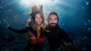 Freediving couple Beth 'The Mermaid' Neale and Miles 'Aquaman' Cloutier caught some spectacular underwater moments in the new Freediving Diaries to premiere on DStv next month. Don Hunter