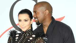 Kim and Kanye West. Picture: Evan Agostini/AP