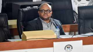 Attorney Madimpe Mogashoa gave evidence relating to allegations of corruption at the Passenger Rail Agency of SA. Picture: Itumeleng English/African News Agency(ANA)