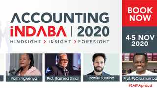 This year's first virtual conference, the Accounting iNdaba 2020 aims to keep you Covid-safe, coming to you live in the security of your own home.