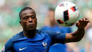 Patrice Evra of France in action during the UEFA EURO 2016 round of 16 match between France and Ireland at Stade de Lyon in Lyon, France, 26 June 2016. Photo: Yuri Kochetkov/EPA