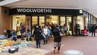 STORE: Woolworths in Adderley Street, Cape Town.