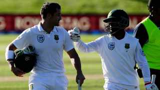 FILE - Temba Bavuma has been appointed to lead the Proteas' limited overs sides, while Dean Elgar will captain the Test team. Photo: Mark Baker/AP