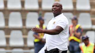 Mongezi Bobe, the Black Leopards caretaker coach, will have a mammoth task preparing his players mentally for the match against Ajax Cape Town. Picture: Muzi Ntombela/BackpagePix