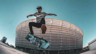 Jean-Marc Johannes from Athlone is making waves on the skateboarding scene. Photo: Lyle Minnaar