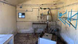 The derelict Maluti Dairy Project in the Maluti-a-Phofung Local Municipality. Picture: Supplied