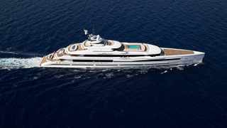 The luxurious yacht called Lana is deemed one of the largest vessels ever built by an Italian shipyard. Picture: www.imperial-yachts.com/yachts/lana/