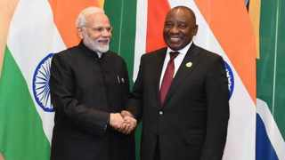 President Cyril Ramaphosa confirmed on Thursday night that he had a telephonic conversation with the Indian Prime Minister Narendra Modi. Picture: African News Agency (ANA) Archives