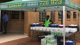 Daily food programme at local mosques and other organisations that have partnered with Sanzaf.