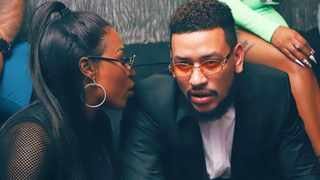 DJ Zinhle and AKA. Picture: Instagram